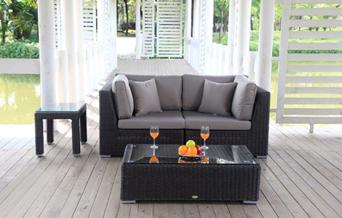 rattan lounge gunstig – rekem, Garten und Bauen