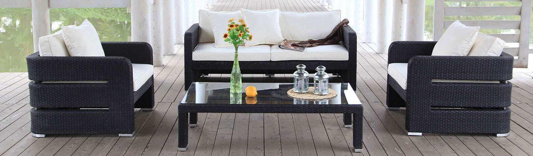 rattan lounge und rattan m bel g nstig online kaufen balkon und terrassenm bel. Black Bedroom Furniture Sets. Home Design Ideas